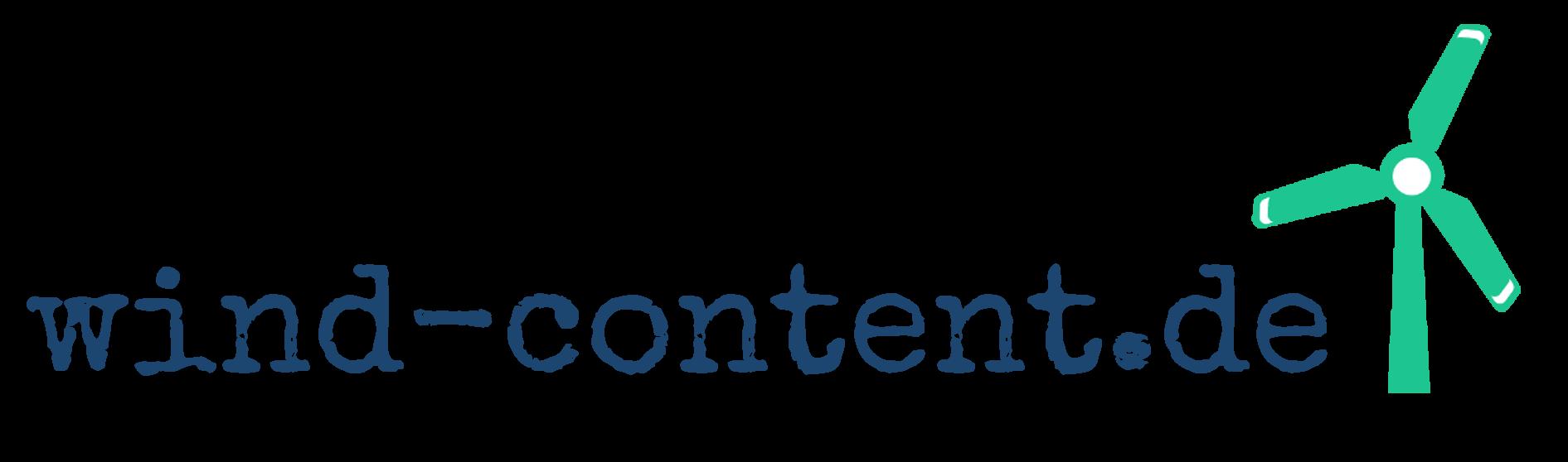 www.wind-content.de - Guten Inhalten auf der Spur